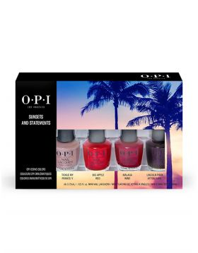 Mini Nail Lacquer 4-Pack - OPI Iconic Bold