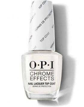 Chrome Effects - Nail Lacquer Top Coat - 15 ml