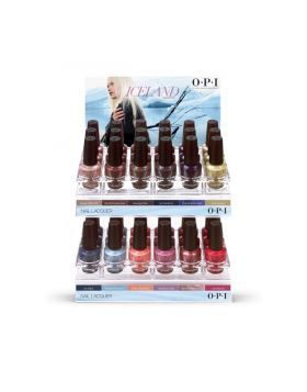 Iceland Nail Lacquer Display C - 36 x 15 ml