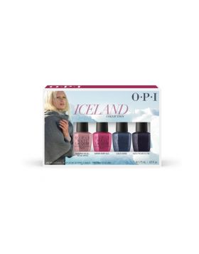 Iceland Nail Lacquer Mini 4-Pack - 4 x 3,75 ml