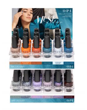 NAIL LACQUER C DISPLAY - MUSE OF MILAN COLLECTION