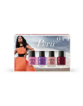 Peru Nail Lacquer Mini 4-Pack - 4 x 3,75 ml