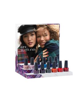 Scotland Nail Lacquer Display Edition A - 12 x 15 ml
