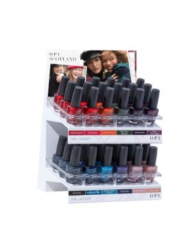 Scotland Nail Lacquer Display Edition C - 36 x 15 ml
