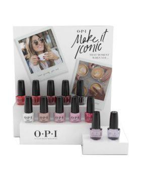 Make it Iconic - Nail Lacquer Counter Display - 12 x 15 ml