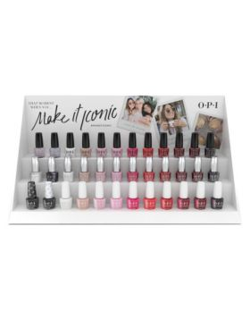 Make it Iconic - Nail Lacquer, Infinite Shine & GelColor Counter Display - 36 x 15 ml