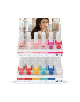 Lisbon GelColor Acrylic Store Display - 24 x 15 ml
