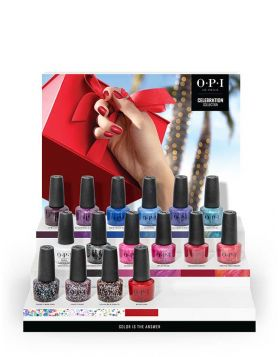 HOLIDAY '21 NAIL LACQUER 16PC CHIPBOARD DISPLAY