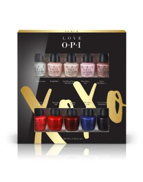 XOXO Nail Lacquer Mini 10-Pack - 10 x 3,75 ml