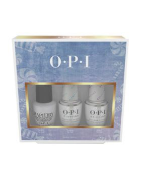Nutcracker Top Coat Treatment Trio - 3 x 15 ml
