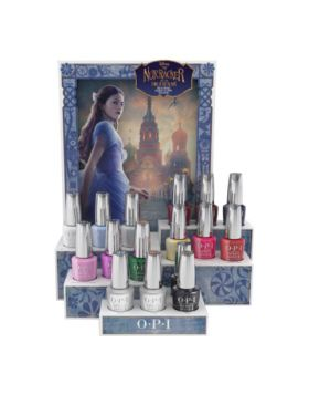 Nutcracker Infinite Shine Salon Counter Display - 16 x 15 ml