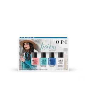 Lisbon Nail Lacquer Mini 4-Pack - 4 x 3,75 ml