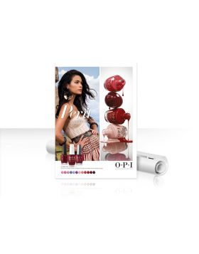 OPI Peru Collection Poster - DIN A1