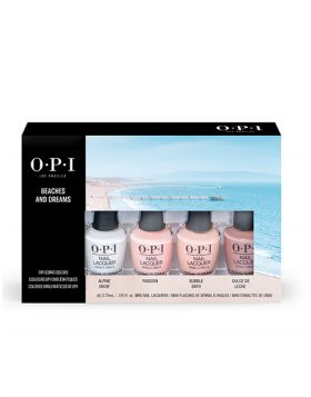 Mini Nail Lacquer 4-Pack - OPI Iconic Soft