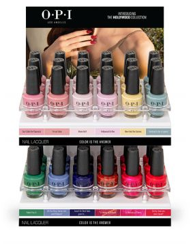 NAIL LACQUER C DISPLAY - Hollywood Collection