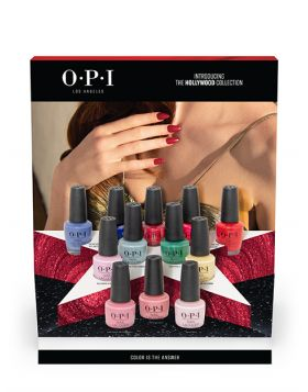 NAIL LACQUER 12PC Chipboard Display - Hollywood Collection