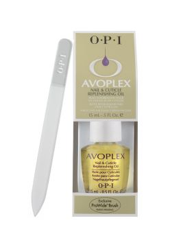Crystal File + Avoplex Nail & Cuticle Replenishing Oil