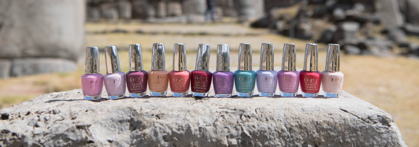 OPI Peru Collection Footer