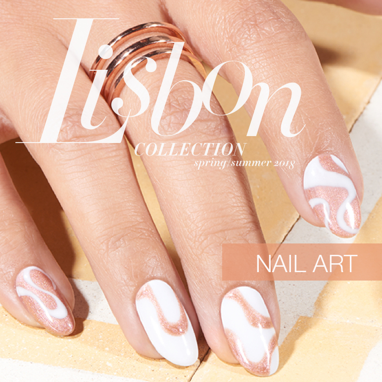OPI Lisbon Collection Nail Art Belem Cream